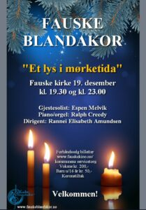 Read more about the article «Et lys i mørketida»