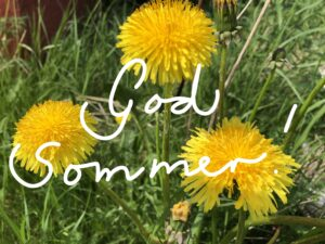 Sommerferie!