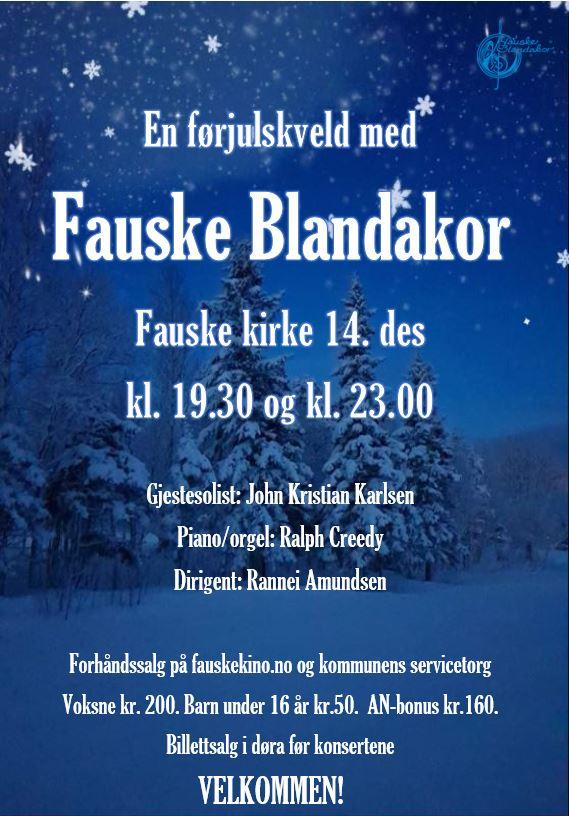 Julekonsert i Fauske kirke